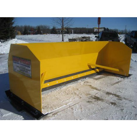 Snow Pusher Backhoe - 12ft