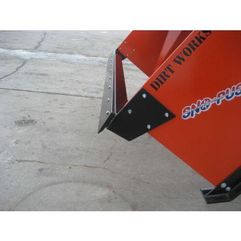 Snow Pusher Skid Steer - 8ft - Pull Back Blade