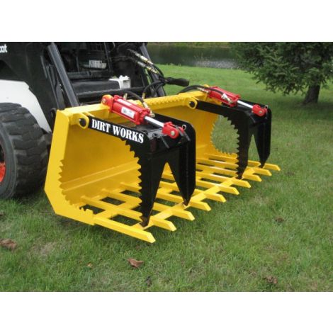 "Grapple Bucket - 72"" Brush Grapple Tine"