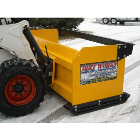 Snow Pusher Skid Steer - 8ft