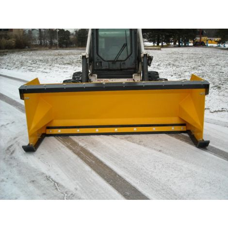 Snow Pusher Skid Steer - 10ft