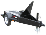 Custom Generator Trailer - Single Axle - Optional A-Frame Tool Box